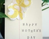 Sew Cute-Yellow Buttercups-Personalized Message Cards