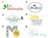 Custom Logo Design for your Etsy Shop or Website - See all my logo listings for more samples