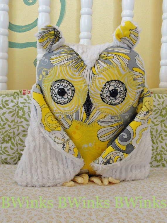 Stuffed Owl Pillow - Limited I - PETITE - No.31