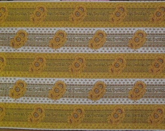 Quilt Kit - Provincial Yellow and White Strippy - Complete Single Bed Quilt Kit