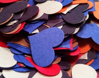 Construction Paper Hearts - Ephemera Pack - Small Hearts
