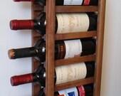 Compact Wall Wine Rack