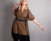 ON SALE Big Wooly Wrap Poncho // One of a kind