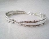 Spoon Bracelet, Vintage Silverware, Spoon Jewelry, Vintage Wedding Bracelet  ROYAL LACE 1973