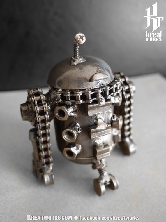 Steampunk - mini Droid (small item)