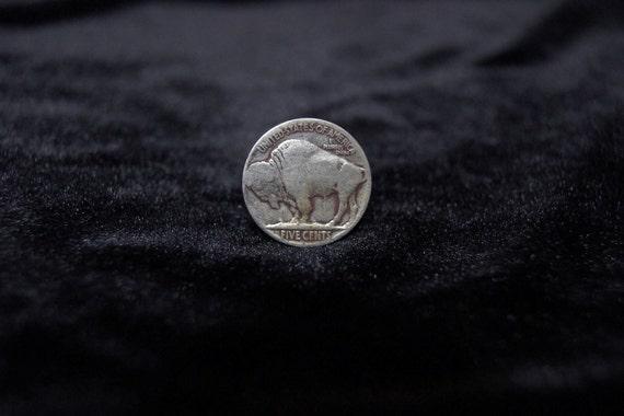 Vintage Buffalo Nickel Ring Size 5.5 6 6.5 7 Horseshoe decoration