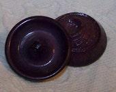 Vintage Plastic Purple Swirl Buttons