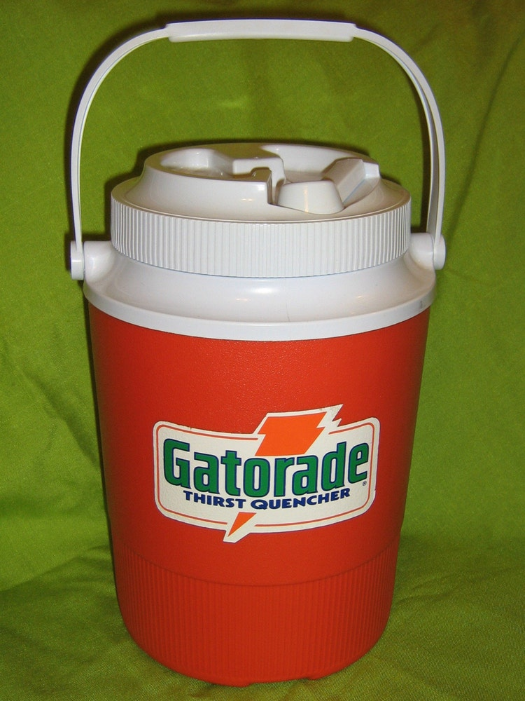 Vintage 1980s Gatorade 1 Gallon Cooler Old By