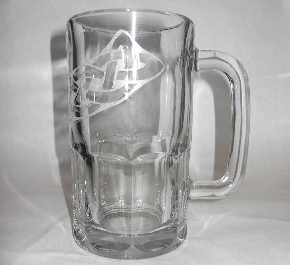 Engraved Celtic Braid Beer Mug