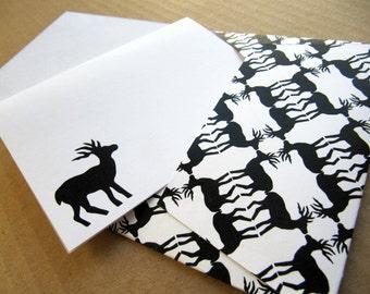 Printable DIY envelope and greeting card set   (pattern No. wb23)