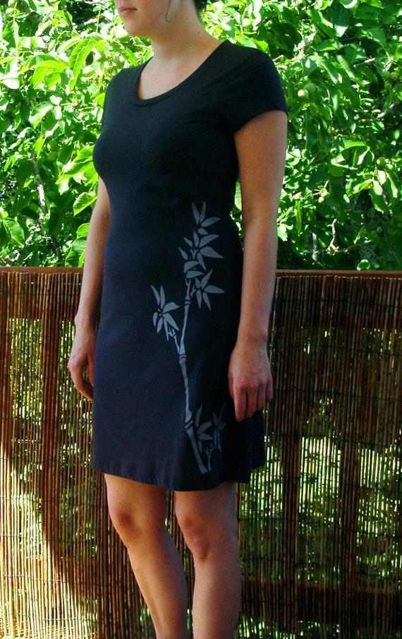Bamboo Ladies T shirt Dress S