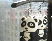 Panda 2GB Flash Drive Earrings