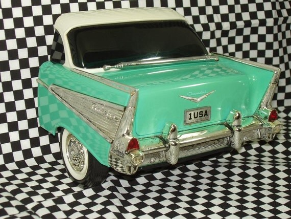 Cruisin 57 chevy belair car radio by rediscoveries on etsy