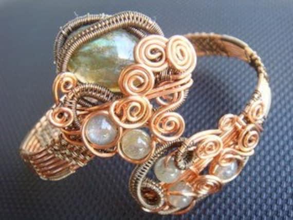 Wire Jewelry Tutorial - Gegani Bangle