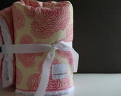 Lovey Security Blanket Pink Flower