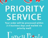 Priority Shipping & Printing Service