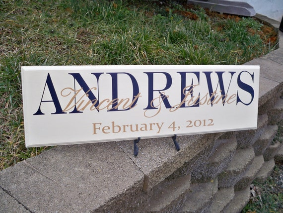 Last Name Sign, Family Name Signs, Family Sign, Custom Name Signs, Custom Wedding Signs, Wedding Signs, Custom Wood Signs, Custom Signs