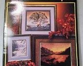 Artistic Landscapes cross stitch pattern booklet