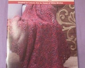 Five Big Needle Afghans knit pattern booklet