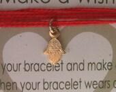 Evil Eye 14k Gold Filled Jewelry Hamsa Bracelet Make A Wish Kabbalah Red Bracelet Hamsa Charm - Wrap Around (Evil Eye Protection Symbol)