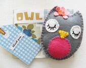 Felt Owl - Thank you Pack