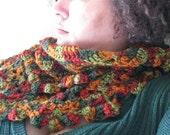 Wonderful Fall Colors Rippled Scarf