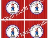 Mario DIY Printable Favor Tag