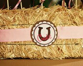 Cowgirl DIY Printable Party Circles
