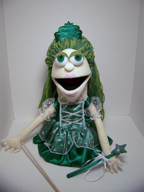 Green Fairy Puppet