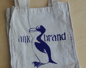 Auk canvas bag, purple