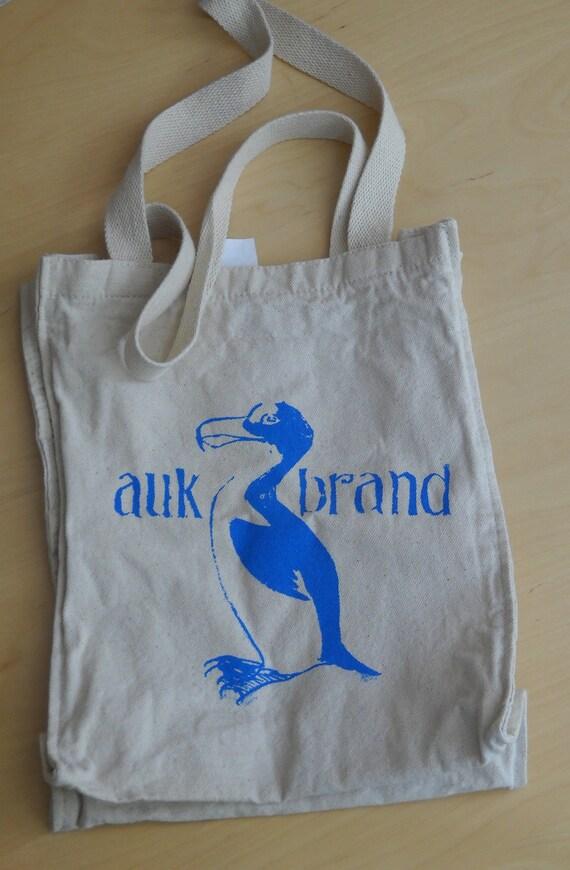 Auk canvas bag, blue