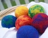 Wool Dryer Balls Laundry Balls Eco Friendly Laundry Felt Wool Dryer Balls (6) BEST. GUARANTEED.