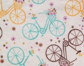 Baby Wipes Double Sided Cloth Napkins Flannel Wipes Bicycle Pink Plaid Baby Girl Children Napkins Lunchbox