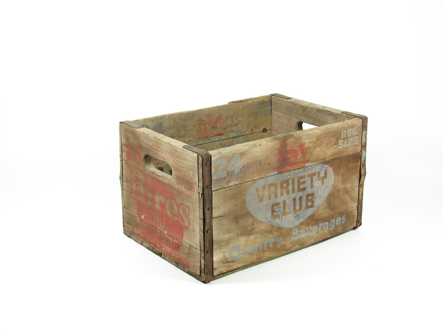 Vintage Wood Crate Wooden Crate Box Bin Hires By