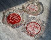 Vintage Las Vegas Casino Advertising Glass Ashtray Collection