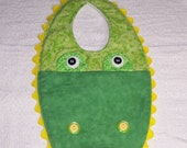 Alligator Baby Bib