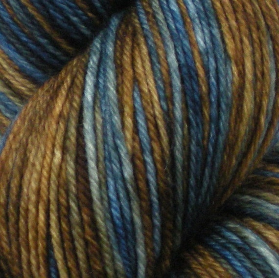 Tenish on Comfy -  Superwash Hand Dyed Sock Weight Yarn