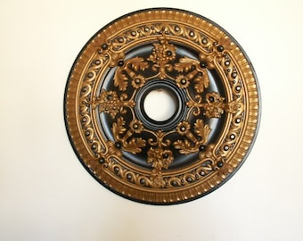 28 inch fan/chandlier ceiling medallion
