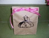 Wedding or Bridal Shower Favor Bag- 20 Pack