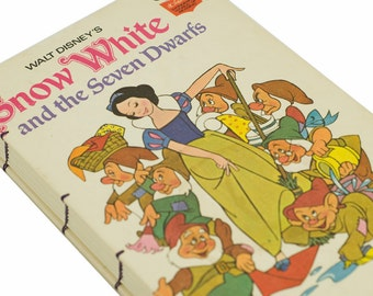 1973 SNOW WHITE Vintage Book Notebook