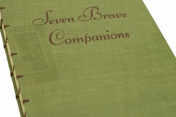 1953 BRAVE COMPANIONS Vintage Book Journal Notebook