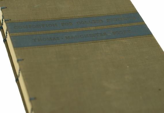 1939 COMPOSITION Vintage Book Composition Notebook