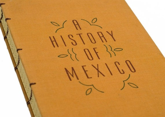 1938 MEXICO Vintage Notebook Journal