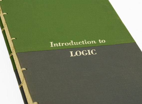 1961 LOGIC Vintage Lined Notebook Journal