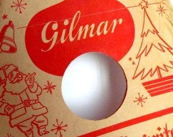 SALE Vintage Christmas Record Sleeve Paper Ephemera
