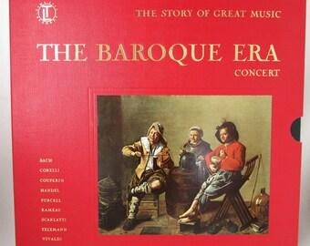 Vintage  Records The Baroque Era 5 LPs
