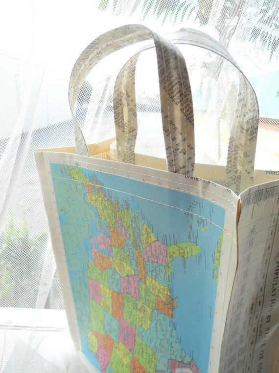 United States / Florida Vintage Map Bag