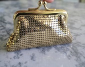 Vintage Whiting and Davis Coin Purse