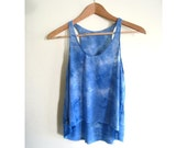 SALE - Clear Sea Dyed Tank
