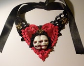 Autopsy Angel - Join us. Gothic, black , lace, choker, conjoined, mourning, memento mori, horror, creepy